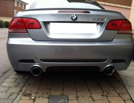 BMW E92 M-Performance-Look Rear Bumper Extension