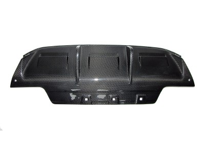 BMW F06 / F12 / F13 M6 DTM Carbon Rear Bumper Extension