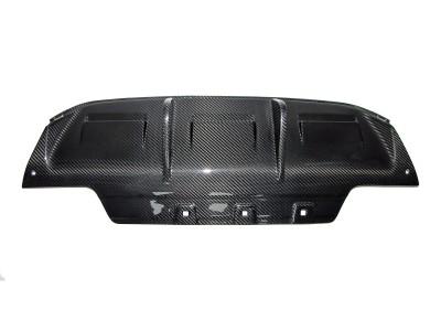 BMW F06 / F12 / F13 M6 DTM Carbon Rear Bumper Extension