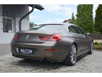 BMW F06 Gran Coupe Matrix Side Skirt Extensions
