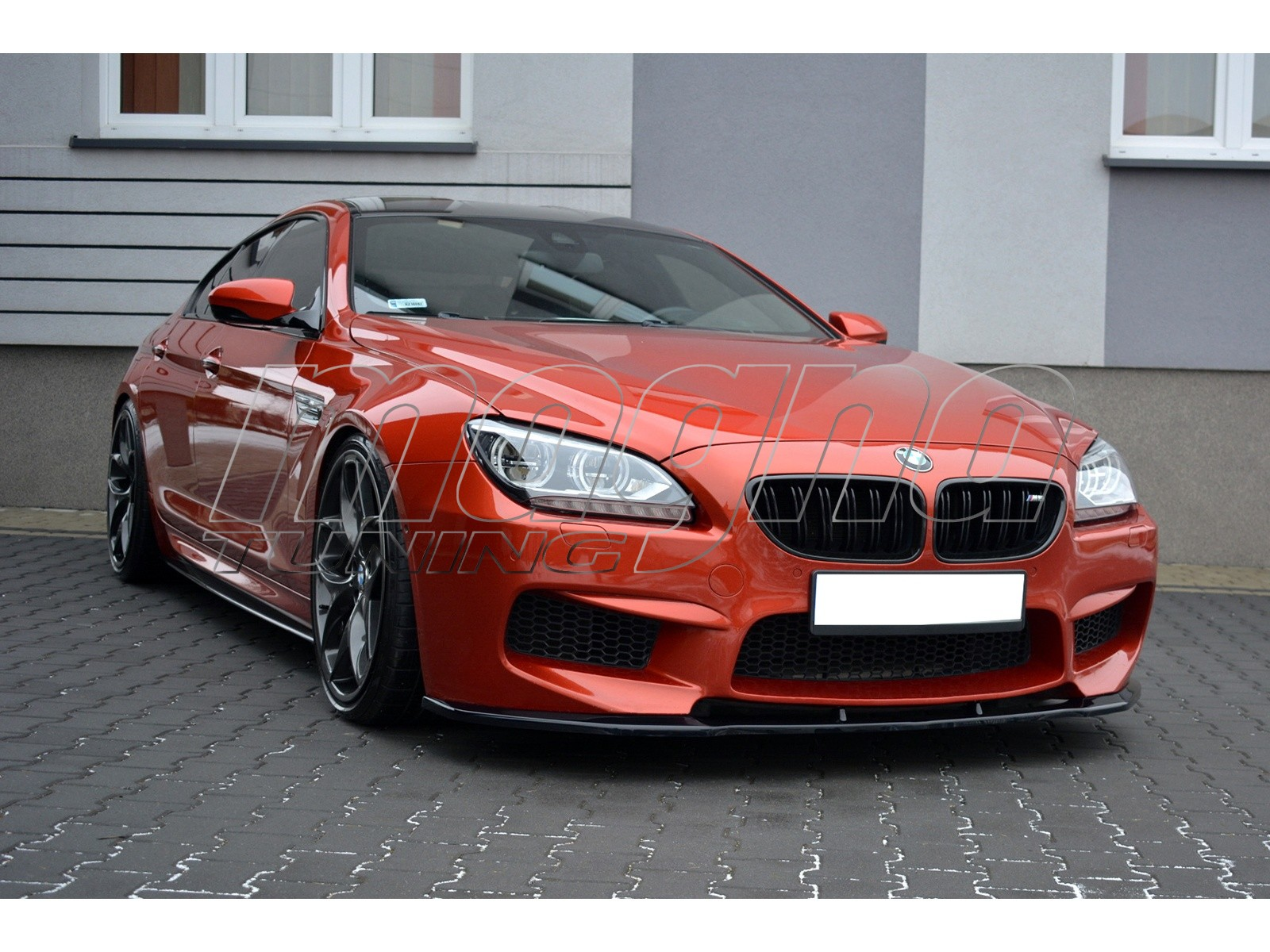 Bmw F06 M6 Gran Coupe Meteor Front Bumper Extension