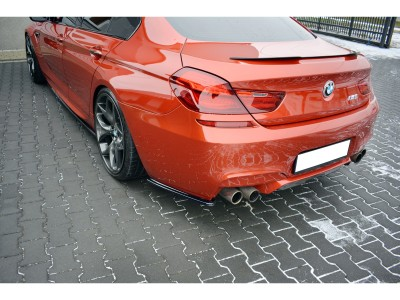 BMW F06 M6 Gran Coupe Meteor Rear Bumper Extensions