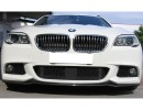 BMW F10 / F11 RX Carbon Fiber Front Bumper Extension