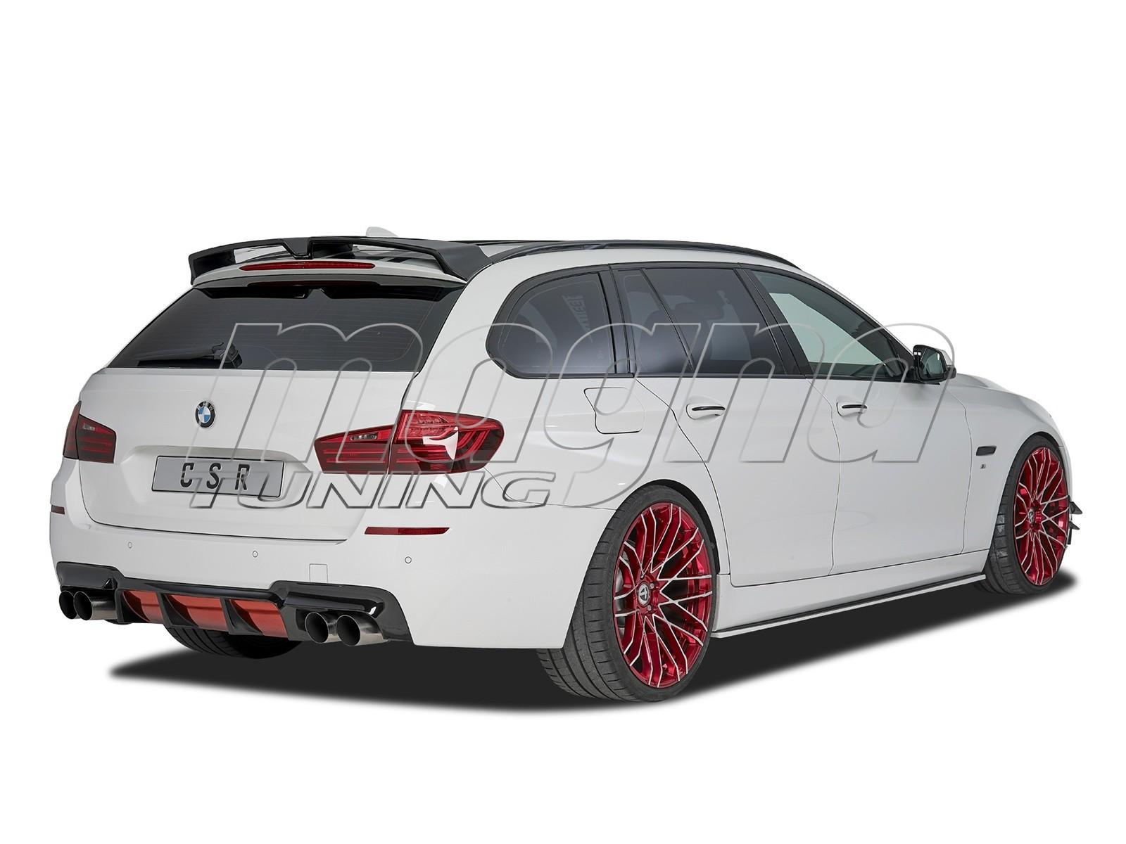 BMW F10 / F11 M-Performance-Look Rear Bumper Extension