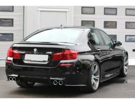 BMW F10 M5 Matrix Rear Bumper Extensions