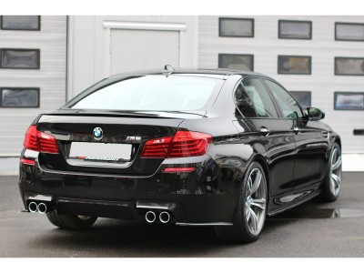 BMW F10 M5 Matrix Rear Bumper Extensions