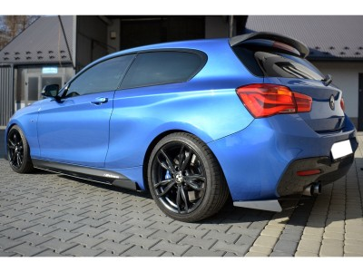 BMW F20 / F21 Facelift Drag Rear Bumper Extensions