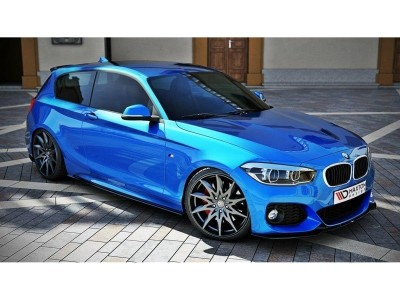 BMW F20 / F21 Facelift Master Side Skirt Extensions