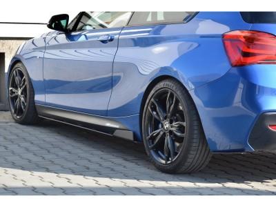 BMW F20 / F21 Facelift Racer Side Skirt Extensions