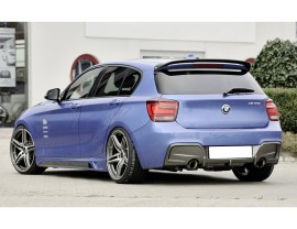 BMW F20 Rieger Side Skirts