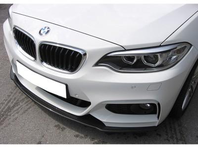 BMW F22 / F23 RX Carbon Fiber Front Bumper Extension