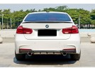 BMW F30 / F31 335i Exclusive Carbon Fiber Rear Bumper Extension