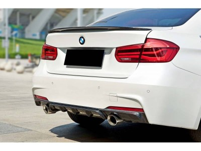BMW F30 / F31 335i Exclusive Carbon Heckansatz