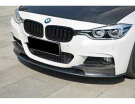 BMW F30 / F31 Performance-Look Carbon Fiber Front Bumper Extension