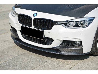 BMW F30 / F31 Performance-Look Carbon Fiber Front Bumper Extension