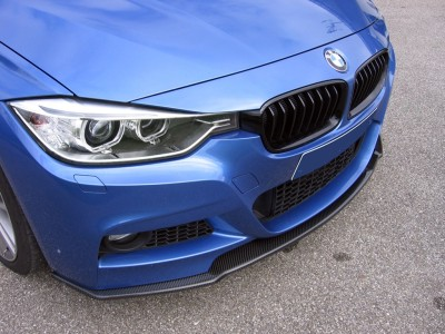 BMW F30 / F31 RX Carbon Fiber Front Bumper Extension