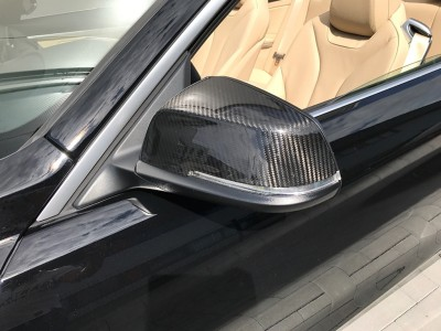BMW F30 / F31 Speed Carbon Fiber Mirror Covers