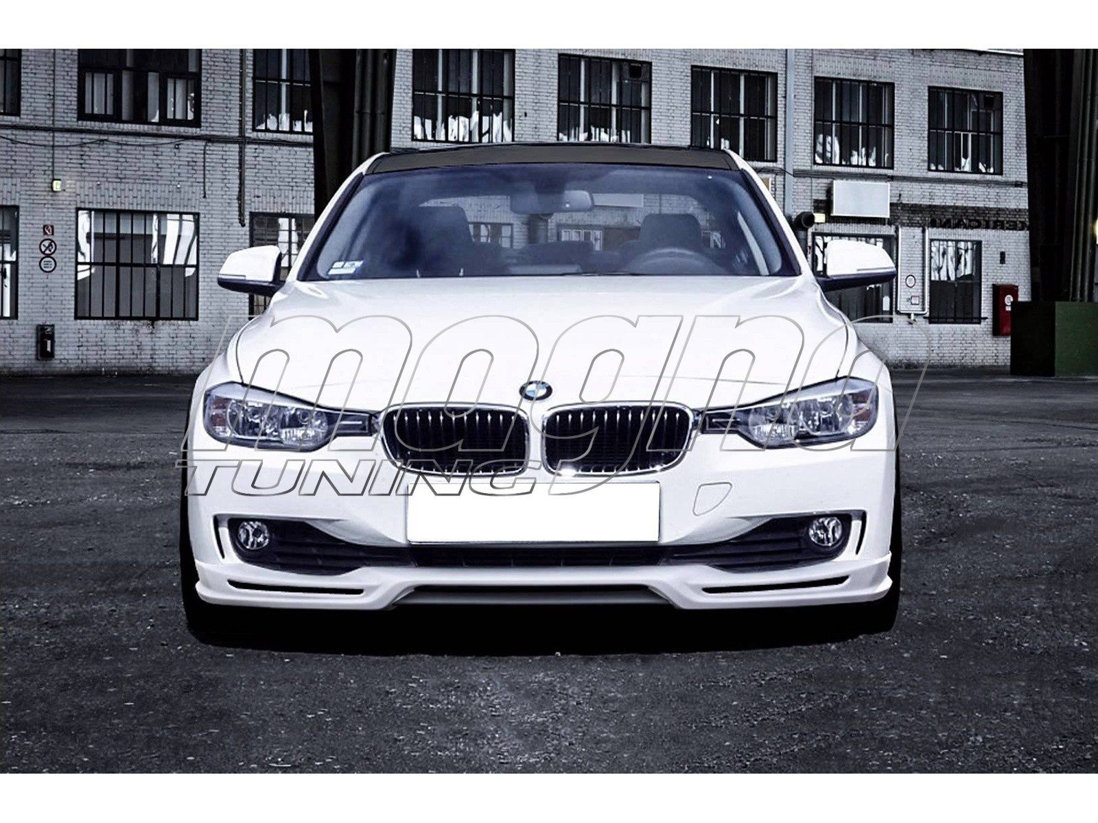 Bmw F30 F31 Enos Front Bumper Extension