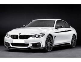 BMW F32 / F33 / F36 Exclusive Carbon Fiber Front Bumper Extension