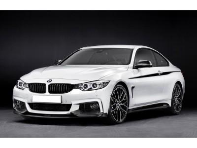 BMW F32 / F33 / F36 Extensie Bara Fata Exclusive Fibra De Carbon