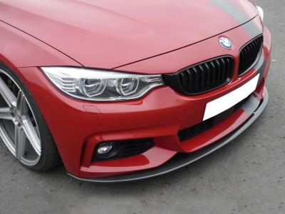 BMW F32 / F33 / F36 RX Carbon Fiber Front Bumper Extension