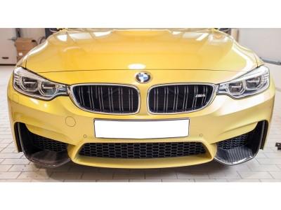 BMW F80 M3 Crono Carbon Fiber Front Bumper Extensions
