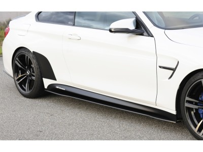 BMW F80 M3 Recto Carbon Fiber Side Skirt Extensions