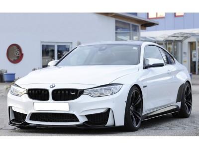 BMW F82 / F83 M4 Extensie Bara Fata Recto