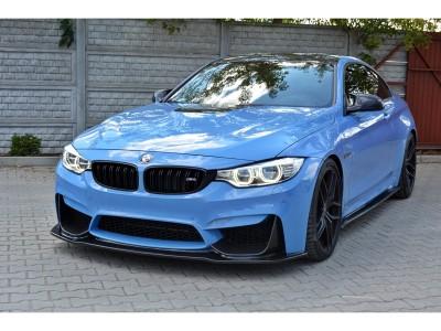 BMW F82 / F83 M4 Master Carbon Fiber Front Bumper Extension