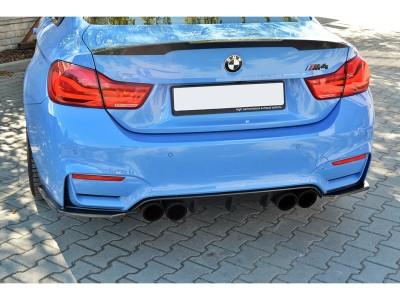 BMW F82 / F83 M4 Master Carbon Fiber Rear Bumper Extensions