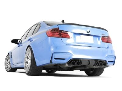 BMW F82 / F83 M4 RaceLine Carbon Fiber Rear Bumper Extension