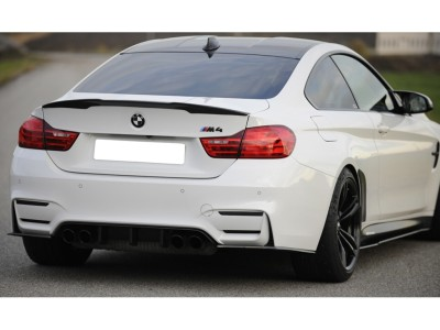 BMW F82 / F83 M4 Recto Rear Bumper Extension