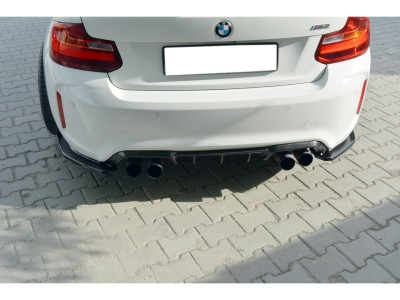 BMW F87 M2 MX Rear Bumper Extensions