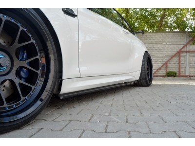 BMW F87 M2 MX Side Skirt Extensions