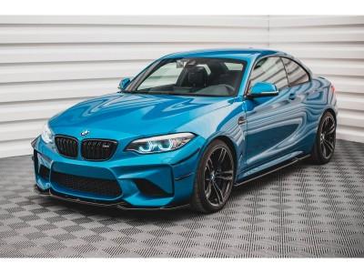 BMW F87 M2 Matrix2 Front Bumper Extension