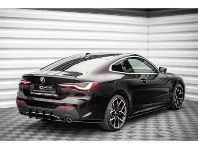 BMW G22 Matrix Rear Bumper Extension