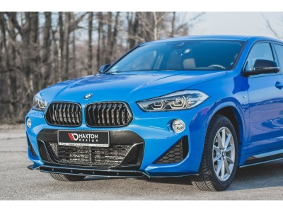 BMW X2 F39 MX Front Bumper Extension