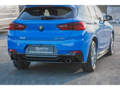 BMW X2 F39 MX Rear Bumper Extension