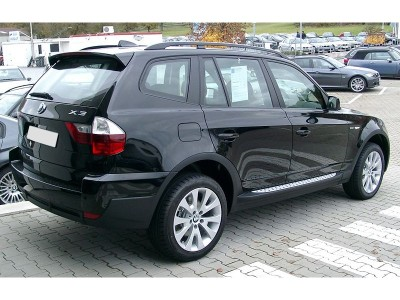 BMW X3 E83 Praguri Laterale Sport