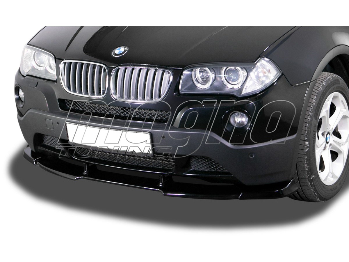 BMW X3 E83 V1 Front Bumper Extension
