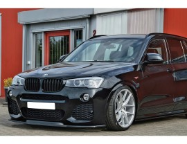 BMW X3 F25 Intenso Front Bumper Extension