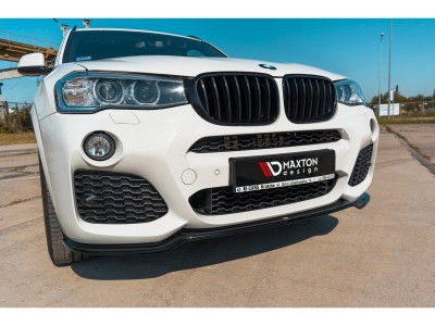 BMW X3 F25 MX Front Bumper Extension