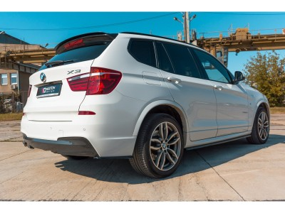 BMW X3 F25 MX Rear Bumper Extensions