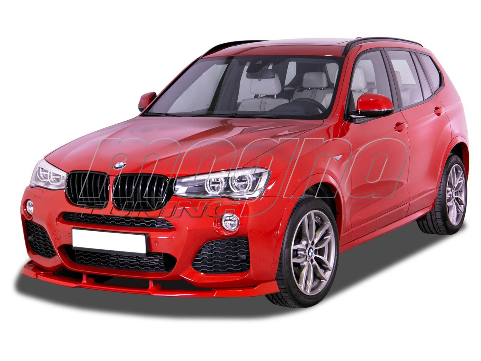 BMW X3 F25 RX Front Bumper Extension