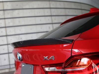 BMW X4 F26 Crono Karbon Hatso Szarny