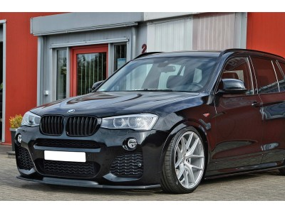 BMW X4 F26 Intenso Front Bumper Extension