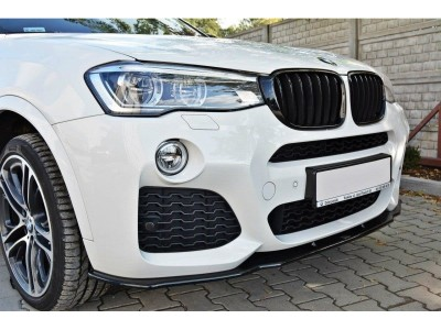 BMW X4 F26 MX Front Bumper Extension