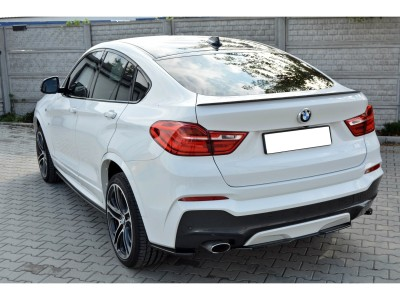 BMW X4 F26 MX Rear Bumper Extension