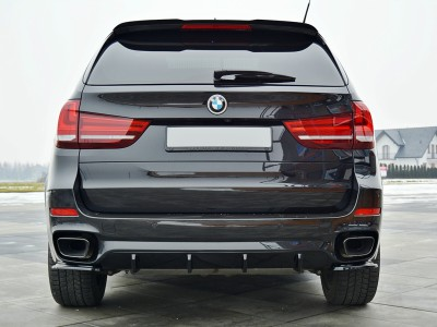 BMW X5 F15 M50d MX Rear Bumper Extension