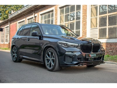 BMW X5 G05 MX Front Bumper Extension